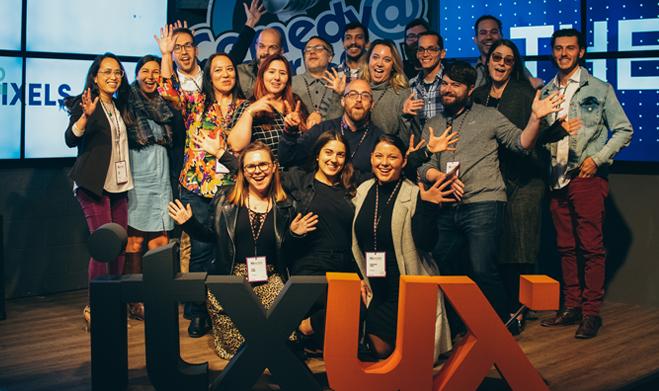 ITX UX team group shot