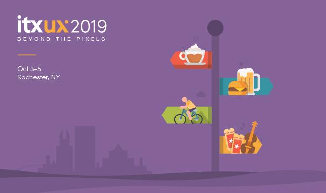 ITX UX 2019 event slide