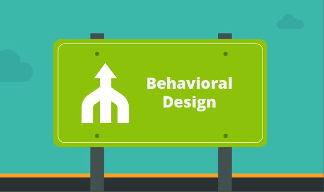 Behavioral street sign illustration