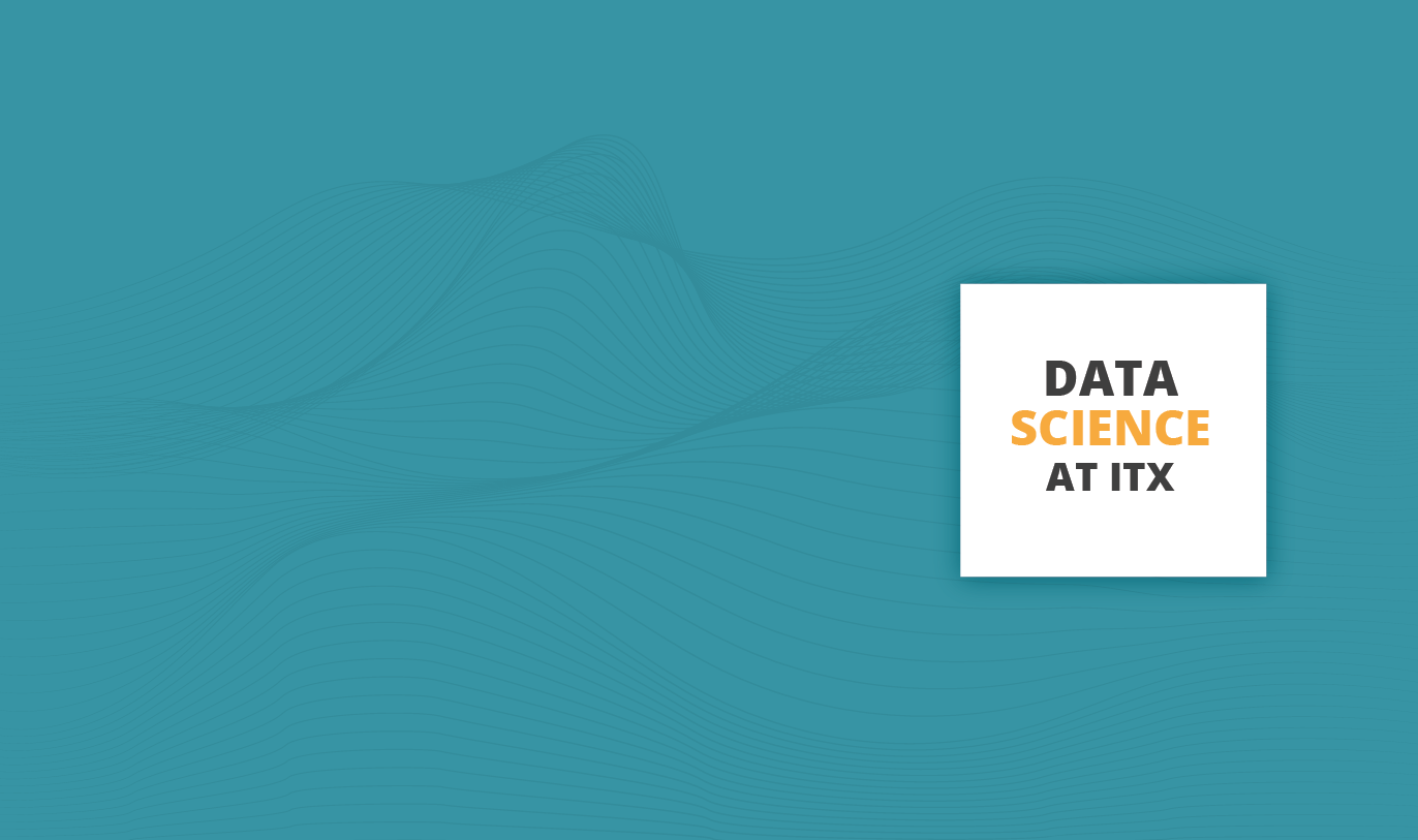 Data science at ITX banner